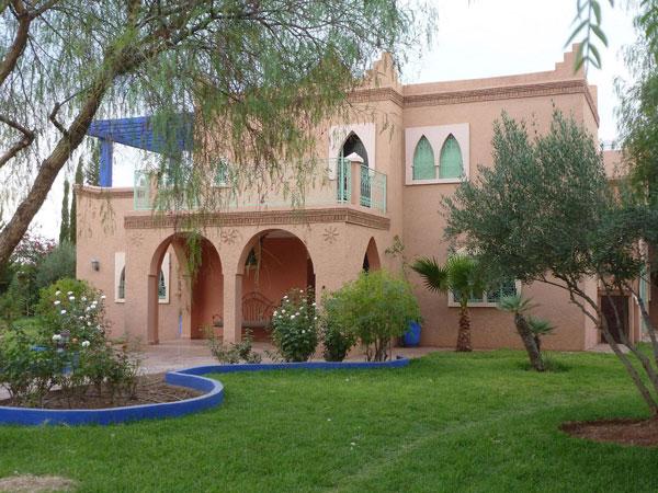 Villa vacances avec piscine priv e marrakech marrakech for Piscine privee marrakech